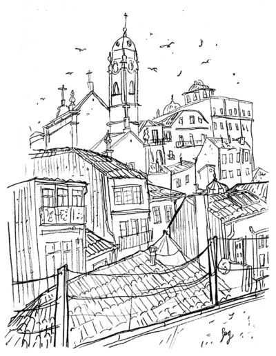 oporto-illustration